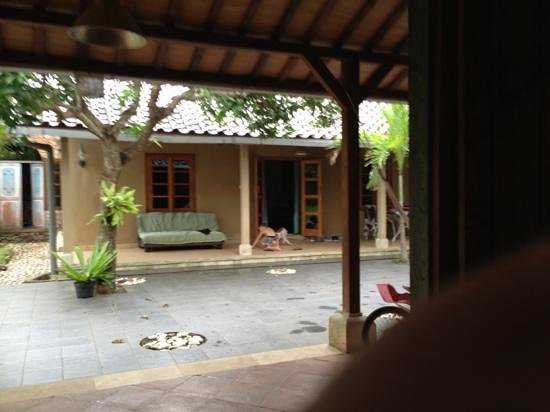 Exclusive Bali Bungalows: courtyard