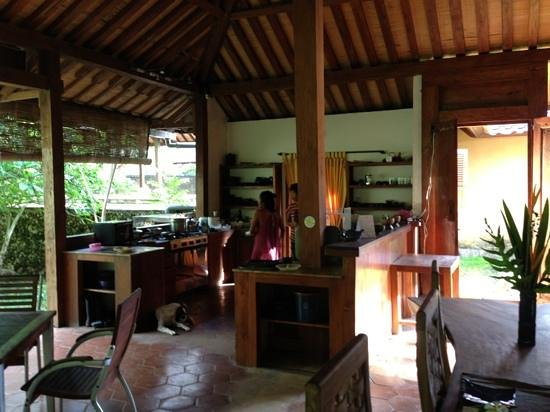 Exclusive Bali Bungalows: Dining area