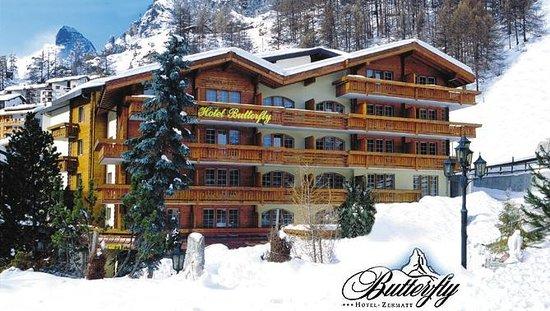 BEST WESTERN Hotel Butterfly : Exterior - winter