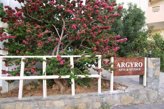 Argyro Apartments : entrance