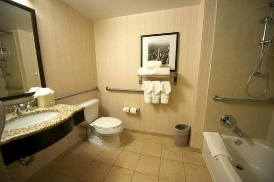 Hilton Garden Inn Times Square: Bathroom