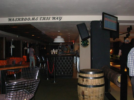 All Star Lanes (Brick Lane): côté bar...