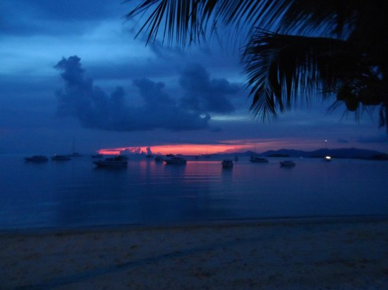 Saboey Resort and Villas: Sunset