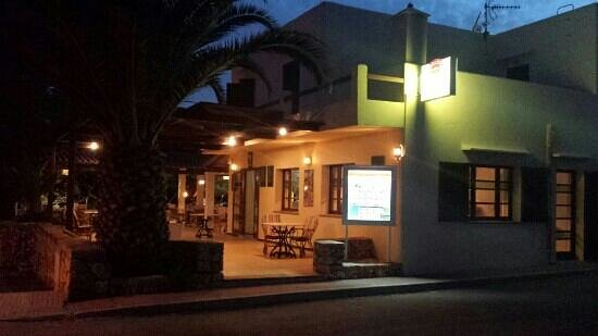 Restaurante Cala Ferrera Bar Maria: vista de fuera