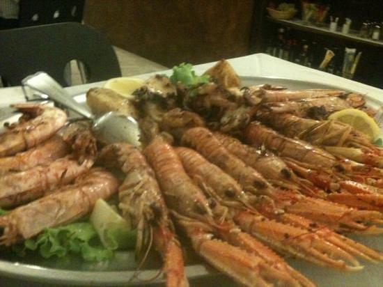 Al Giardinetto : grigliata di pesce
