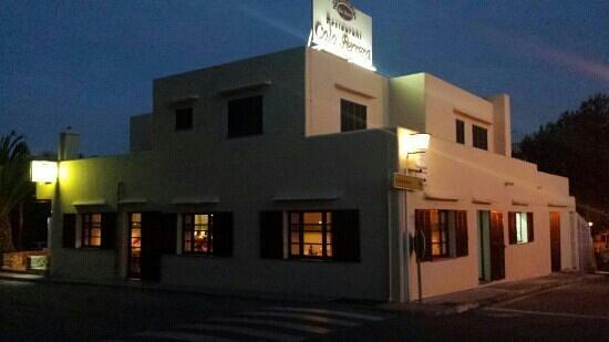 Restaurante Cala Ferrera Bar Maria: exterior