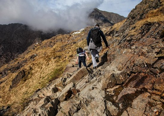 Snowdon : The Pyg track