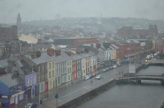 The River Lee: View of the City of Cork from the 4th Floor