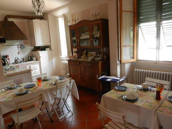 Fiorenza B&B: Küche
