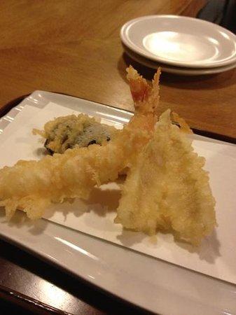 Sumiyaki Gonpachi Azamino: 天ぷらが旨い