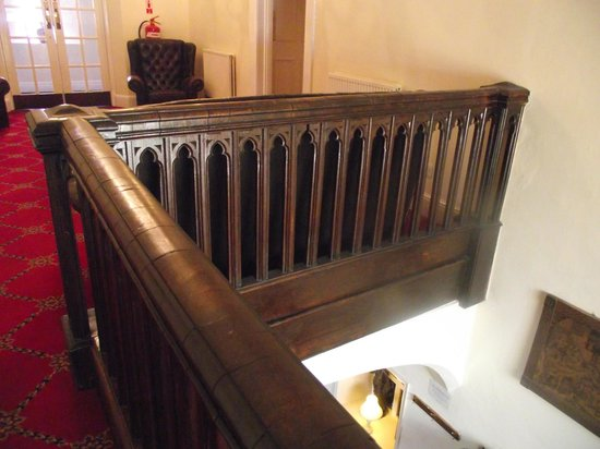 The Priory Hotel & Restaurant: top of staircase