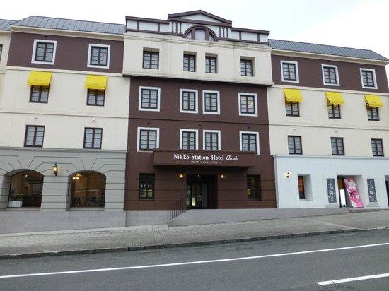 Nikko station hotel classic: Exterior