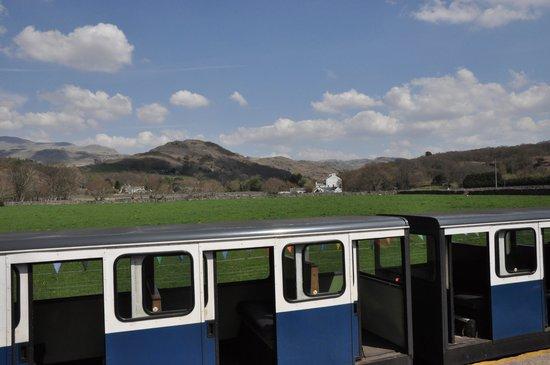 Ravenglass and Eskdale Railway: carriage