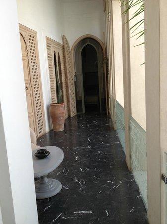 Riad Due: Lobby