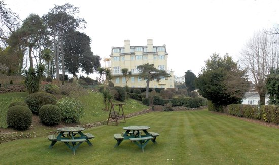 view near hotel - Picture of The Headland Hotel, Torquay ...