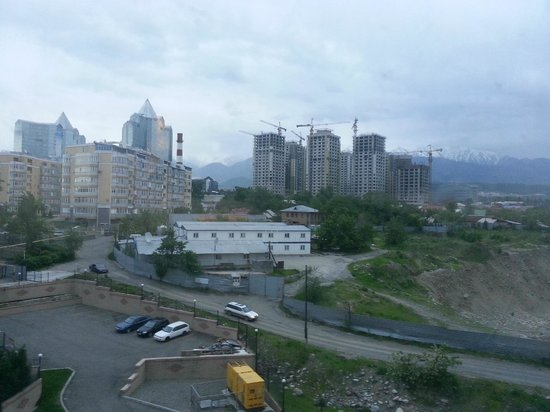 Holiday Inn Almaty: view from room 728