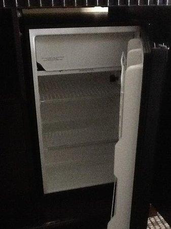 Econo Lodge Inn and Suites Monroe: Nice little fridge