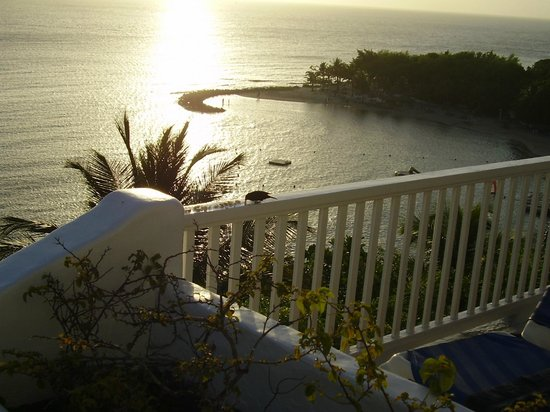 Windjammer Landing Villa Beach Resort : Sunset