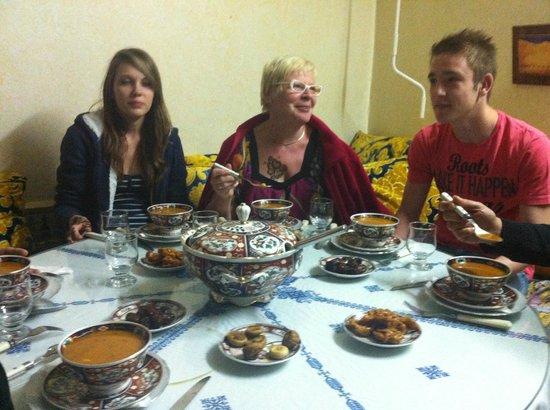 Riad lalla fatima : la soupe Harira de lalla fatima