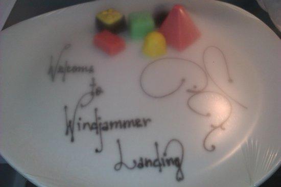 Windjammer Landing Villa Beach Resort: Welcome chocolates