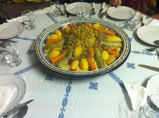 Riad lalla fatima : le Couscous de lalla fatima