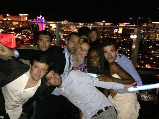 Moon Nightclub: Moon Rooftop @ Palms Hotel Vegas !