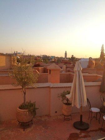 Dar Asam: The terrace