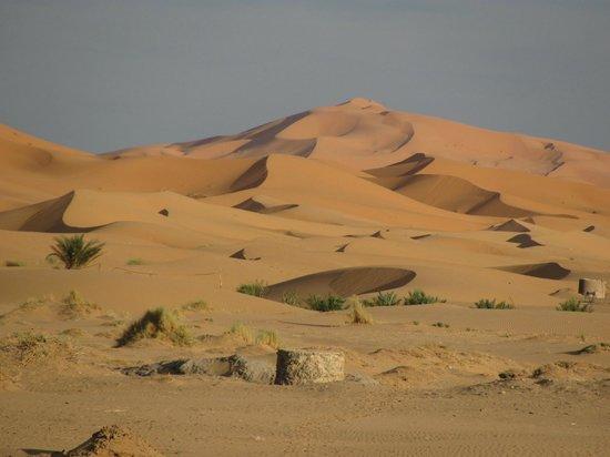 Auberge Camping Sahara : Dunes Erg Shebby