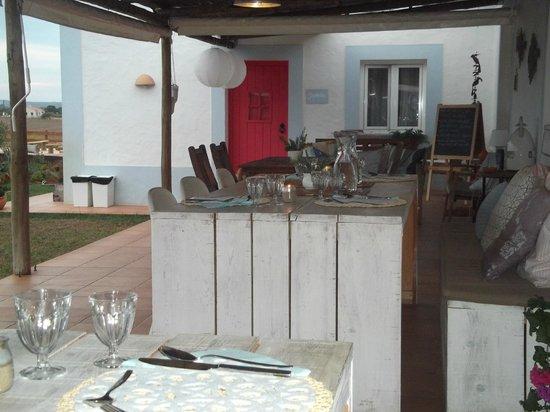 Cerca do Sul: Terrace for dining