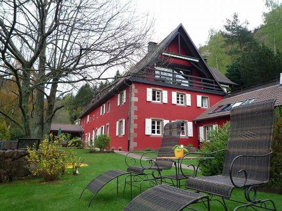 La Haute Grange : 築60年の古いお家はとてもいい雰囲気