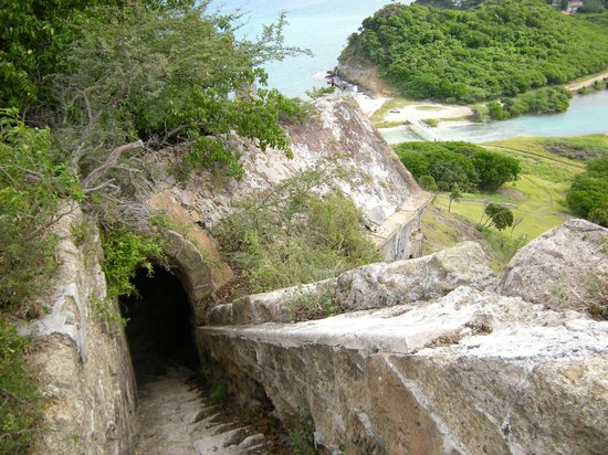 Fort Barrington : Steps to the top