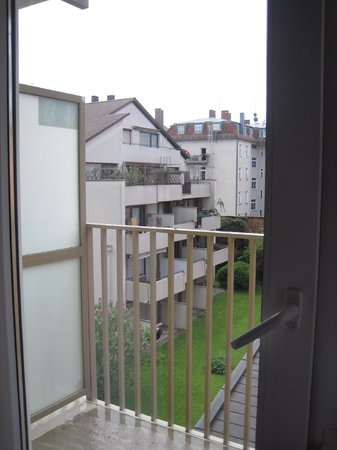 Bavaria Boutique Hotel: View from the room