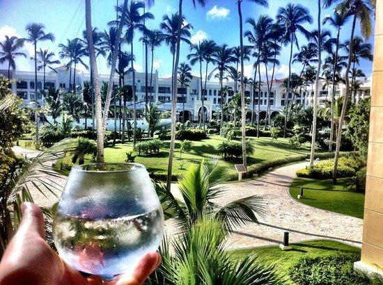 Iberostar Grand Hotel Bavaro: Ausblick vom Balkon