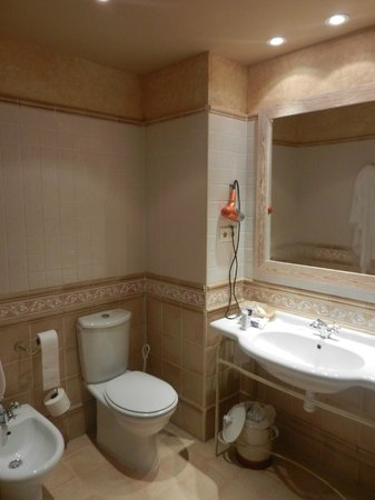 Sercotel Villa de Laguardia Hotel: Bathroom