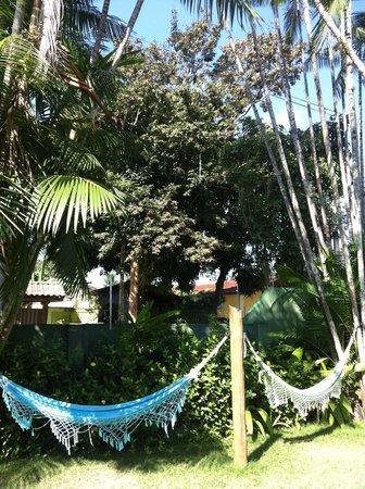 Pousada Ilha de Itaka: Hängematten zum Relaxen
