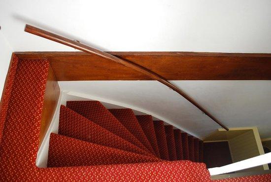Amsterdam Wiechmann Hotel: le scale che portano alla  stanza 330