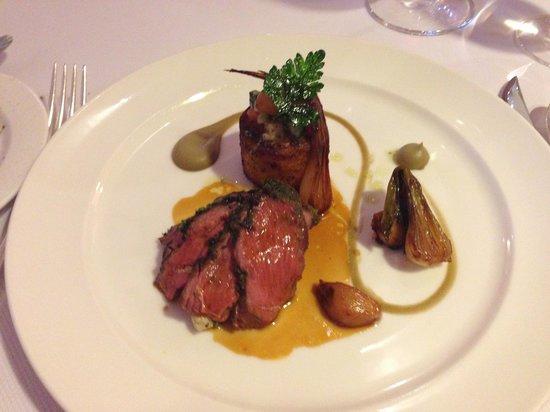 Gidleigh Park Restaurant: Dartmoor lamb