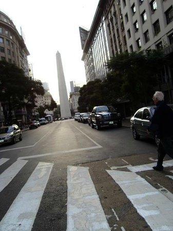 Howard Johnson 9 De Julio Avenue: obelisco