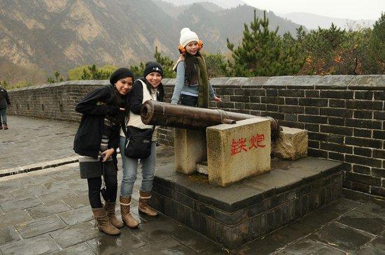 Great Wall at Huangya Pass (Huangyaguan Changcheng): A canon