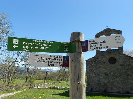 Hotel Cal Rei de Tallo : camins