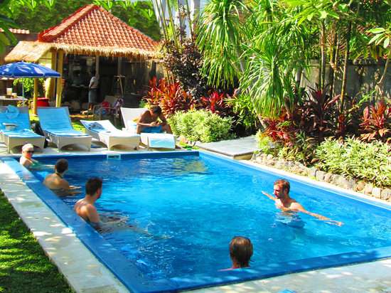 Cafe Locca Homestay: Cafe Locca  pool