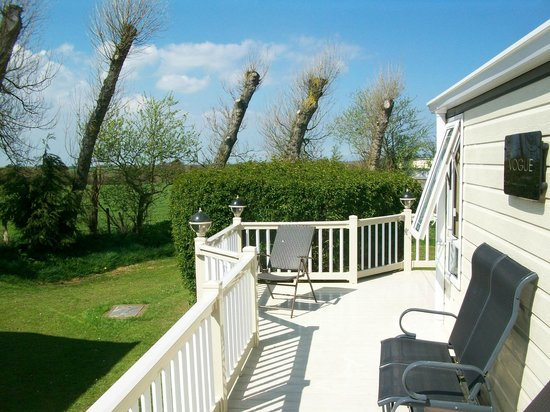 St Margaret's Bay Holiday Park - Park Resorts: Outside the Caravan