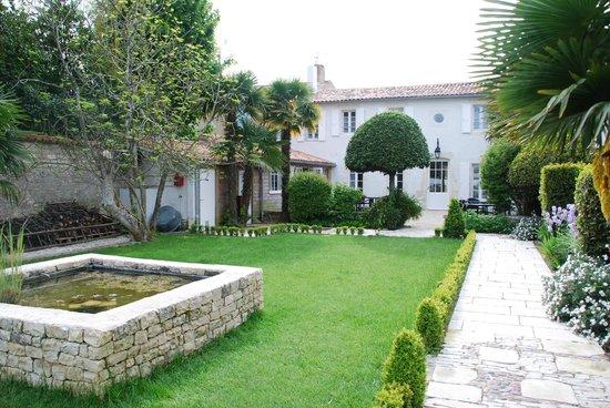 La Villa Clarisse : Le jardin