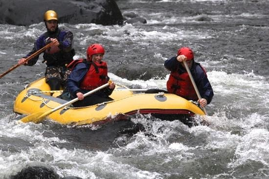 Tongariro River Rafting Foto