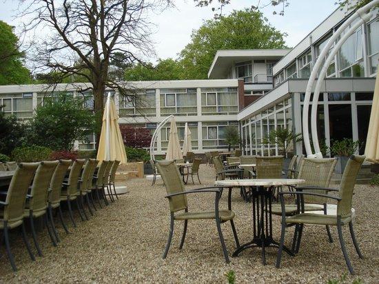 Princess Hotel Amersfoort: terras