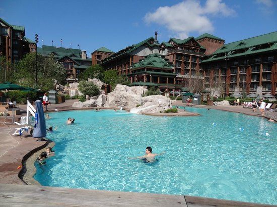 Disney's Wilderness Lodge: Small main pool
