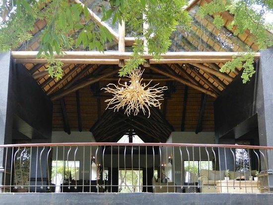 Lion Sands - Tinga Lodge: Recepção