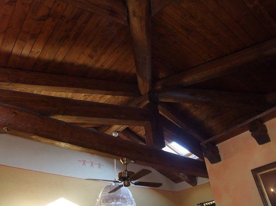 Al Vecchio Gelso : particolare soffitto