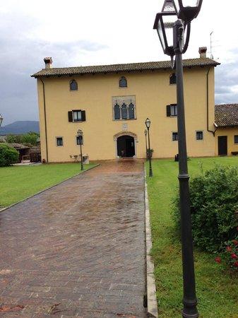 Villa Domus Magna: Main building - XVth Century