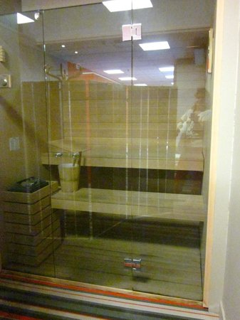 Le sauna - Picture of Brit Hotel Saint Brieuc, Langueux - TripAdvisor